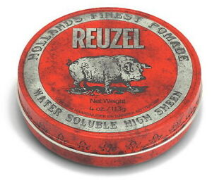 Pomade Red REUZEL Pomade Mittelfester Hold & Gloss Scent After Cola & Vanilla