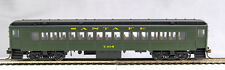 HO mP-54 Santa Fe (cars bought from PRR in 1949)Coaches #109  (Pullman Green)