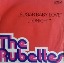 "7"" 70s Amiga vg +++ rubettes: sugar baby love + cette nuit"
