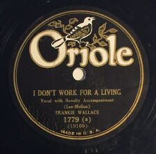 Rare Oriole 78rpm #1779 Frankie Wallace, Jack Kaufman Gay Caballero