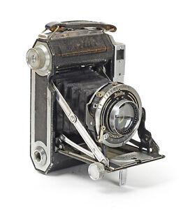 Rangefinder Welta Weltur 6x6 Lens Carl Zeiss Jena Tessar 2.8/7.5cm No.2277936••