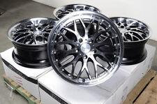 "17"" Black Wheels Rims BMW 128 135 318 323 328 330 335 Acura RL TL Buick Lacrosse"