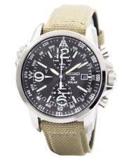 Seiko Prospex Solar Military Alarm Chronograph SSC293P1 SSC293P Men's Watch