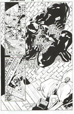 VENOM SPLASH-ORIGINAL SPIDER-MAN FAMILY ART, LEONARD KIRK 2007-FREE SHIPPING!