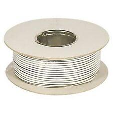 2 Core x 79 Strand 100m Speaker Cable 2 Core Strand White LABGEAR Semi Flexible