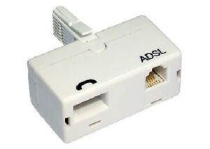 ADSL Filter Broadband Internet Microfilter /Splitter UK