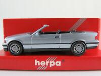 Herpa 031387 BMW 325i Cabriolet (1993) in blausilbermetallic 1:87/H0 NEU/OVP