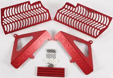 UNABIKER RADIATOR GUARD (RED) Fits: Honda CRF450R