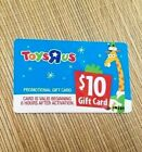 Rare No Value Old Stock $10 Toys R Us Promo Gift Card Christmas Babies R Us Vtg  For Sale