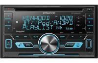 Kenwood DPX503BT Double DIN CD Bluetooth SiriusXM Car Stereo (Replaced DPX502BT)
