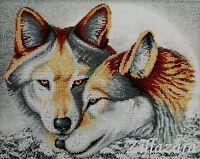 Lebenslange Liebe Stickpackung Bild mit Perlen sticken Stickvorlage Stickbild 14