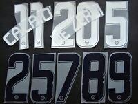 KIT NOME+NUMERO UFFICIALE NAPOLI HOME/AWAY 2007-2008 player size