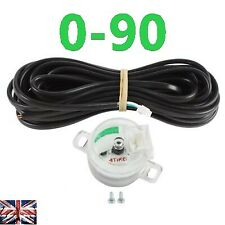 LPG-CNG-GPL GAS TANK Fuel level sensor gauge multivalve sensor 1090 0-90 ohm