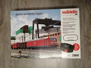 Märklin H0 Digital Startpackung Moderner Güter Verkehr 29841