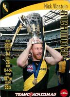 ✺Mint✺ 2019 RICHMOND TIGERS AFL Premiers Card NICK VLASTUIN Teamcoach
