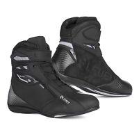 Scarpe moto Eleveit T-Sport WP nero black shoes impermeabili waterproof