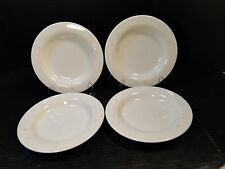 """FOUR Syracuse China Scottsdale Soup Bowls 9"""" Syralite Set of 4 EXCELLENT"""