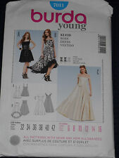Special Occasion Dress Size 6-16 Young Burda 7011 Sewing Pattern