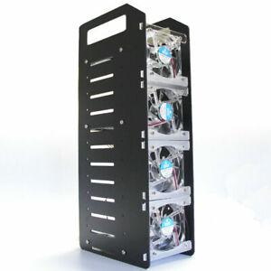 Disk Test Bank Case Halterung DIY Gehäuse Set Werkzeug Festplatte 3,5 Zoll HDD