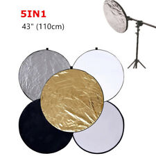 "43"" Foldable Photograph Diffuser Collapsible Light Reflector Camera Accessories"