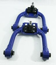 For 96-00 Honda Civic Front Tubular Adjustable Control Arm Camber Kit BLUE