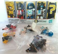 5 Transformer Kreons Hasbro Ultimate Kreon Collection 100% Complete Open Box New