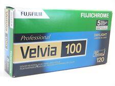Fujifilm Velvia 100 Color Reversal Film (pack of 5)