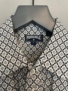 Men's Panhandle Slim Snap Front Western Shirt XL