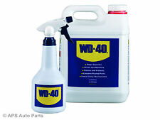 WD40 5 Litre Can Grime Removal Spray Bottle Multi Use Lubricant Rust Cleaner