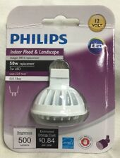 Philips LED MR16 Flood Light Bulb  7 Watt = 50 Watt 12 Volt 36* 3000K # 461508