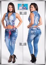 Two-Piece Colombian Jumpsuits New Collection Sizes: 1/2,3/4,5/6,7/8,9/10USA