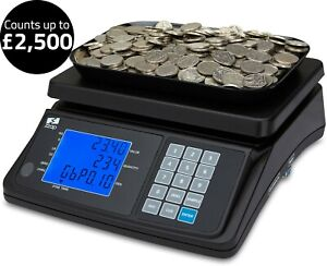 Coin Counting Scale Checker Money Cash Currency Weighing Counter Machine ZZap