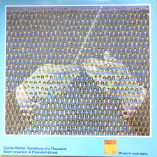 MAHLER- symphony of a thousand no. 8-kubelik- DG bayer organica DBL LP 760 mint