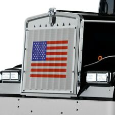 Peterbilt Truck USA Flag Patriotic Bug Screen Grille Cover 1986-2007 Belmor NEW