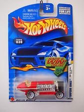 HOT WHEELS 2002 FIRST EDITIONS 18/42 TORPEDO JONES FIRE TRUCK RED
