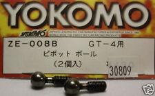 YOKOMO Rotules de suspensions GT-4 ZE-008B 30809