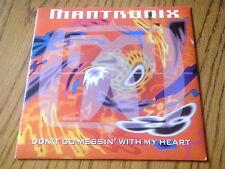 """MANTRONIX-non cercare di giocare """"con il mio cuore 7"""" VINILE PS"""