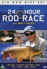 24 HOUR ROD RACE WITH MATT HAYES 6 DVD GIFT SET ULTIMATE FISHING CHALLENGE