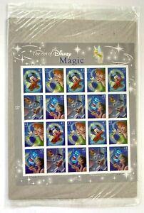 The Art of Disney Magic USPS .41 Stamp Sheet X 20 2006 Sealed
