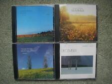 George Winston 8 CDs December Summer Autumn Plains Autographed Linus & Lucy