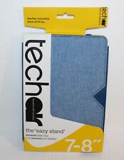 "techair 7'' - 8"" the ''eazy Stand'' UNIVERSAL Tablet Case - Blue - **NEW**"