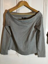 FABULOUS SPORTSGIRL TOP GREY SIZE LARGE NEW RRP $59