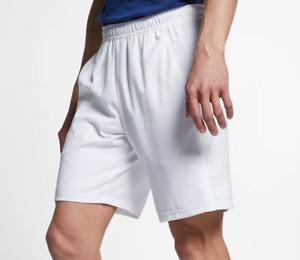 Nike Tennis Shorts Mens 2XL Authentic NikeCourt Dri FIT 9 Inch Training White
