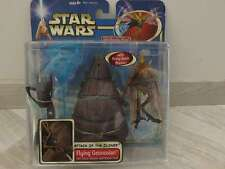 Star Wars Hasbro Attack of the Clones - Flying Geonosian with Sonic Blaster and