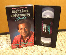HOLLYWOOD DOG TRAINING Health Care & Grooming VHS Joel Silverman introduction