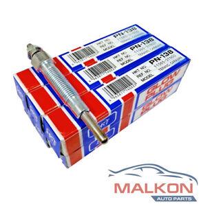 6 x HKT Glow Plugs for NISSAN PATROL (GU Y61) 4.2TD (TD42T) 99-12' PN138V