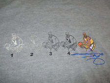 SHAQUILLE O'NEAL No. 32 LOS ANGELES LAKERS Embroidered (LG) T-Shirt