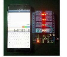 12V 8-Channel  Bluetooth Relay Android Mobile Remote control Switch Motor Light