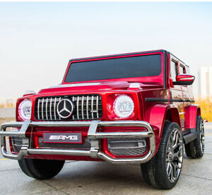Mercedes Benz G63 Kids 24 V Ride Battery Powered Electric Car w/Remote Control