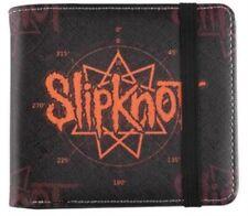 """Slipknot """"Pentagram Logo"""" Bifold Wallet  Official BRAND NEW"""